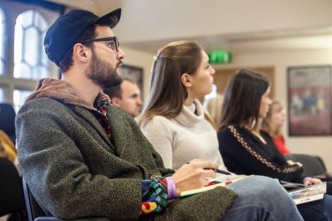 Teachers at a site familiarisation visit event