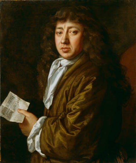 Portrait of Samuel Pepys by John Hayls