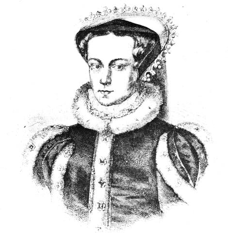 Illustration of Queen Mary I