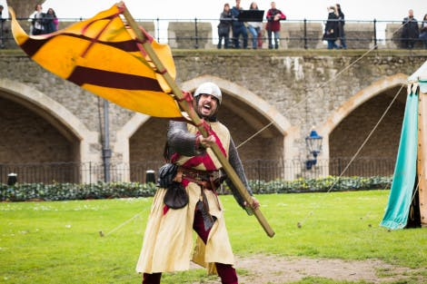 Conquest event at the Tower of London