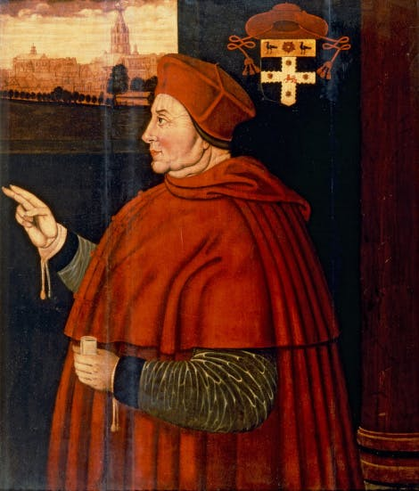 Painting of Cardinal Thomas Wolsey (1475–1530)