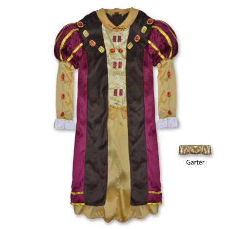 King Henry VIII deluxe dress up costume