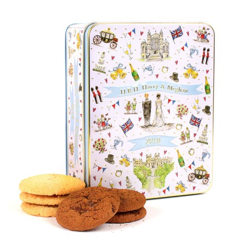 Royal Wedding 2018 commemorative biscuit tin