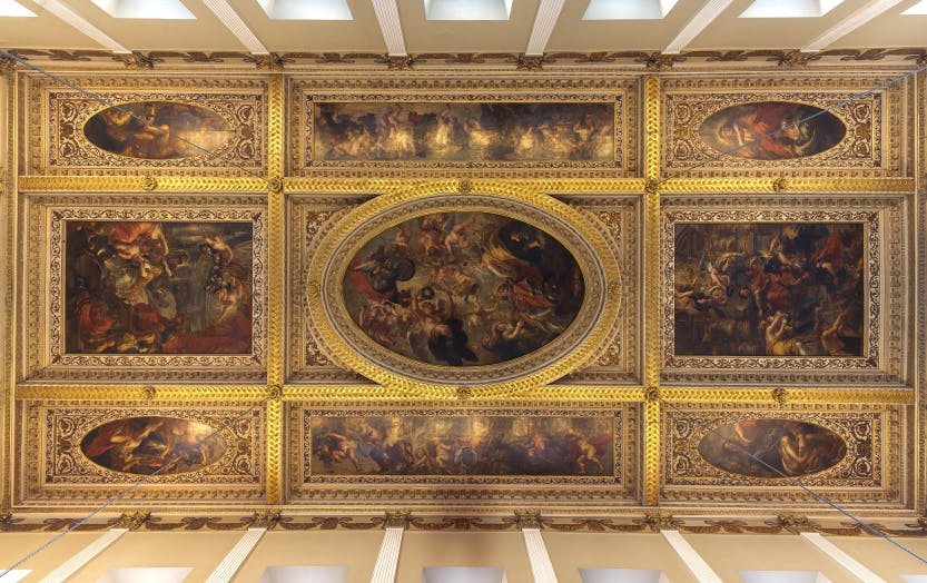 Rubens ceiling at Banqueting House