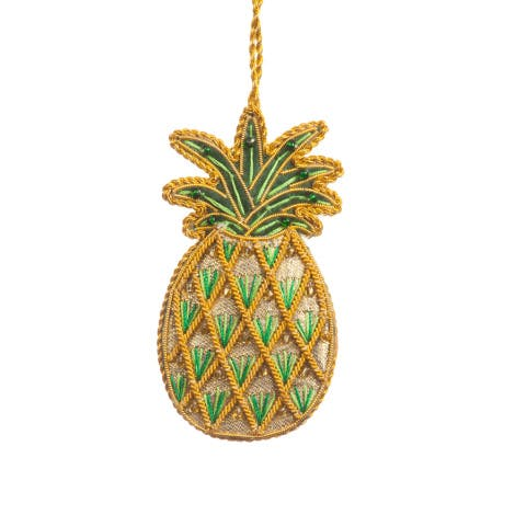 Pineapple luxury hanging decoration