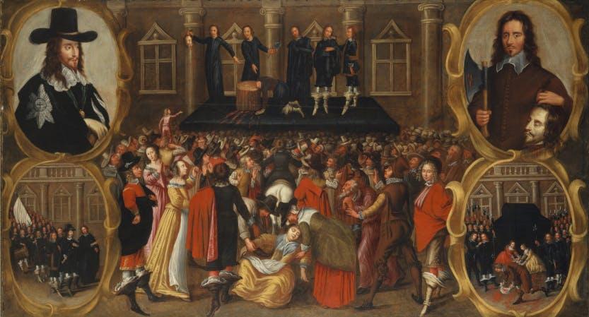 The execution of Charles I | Banqueting House | Historic Royal Palaces