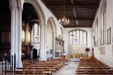 Inside the Chapel Royal of St Peter ad Vincula