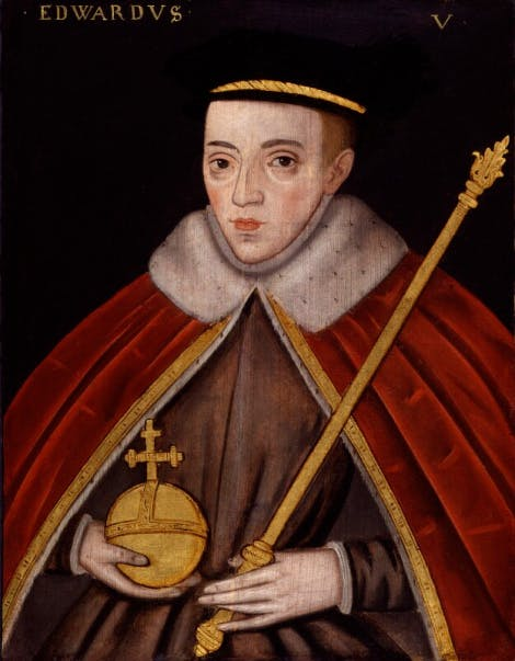 Portrait of King Edward V