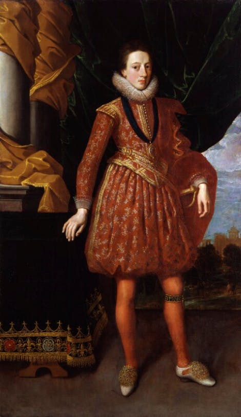 A portrait of King Charles I by an unknown artist