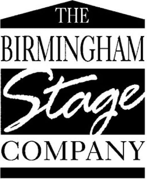 Birmingham Stage Company logo - black and white