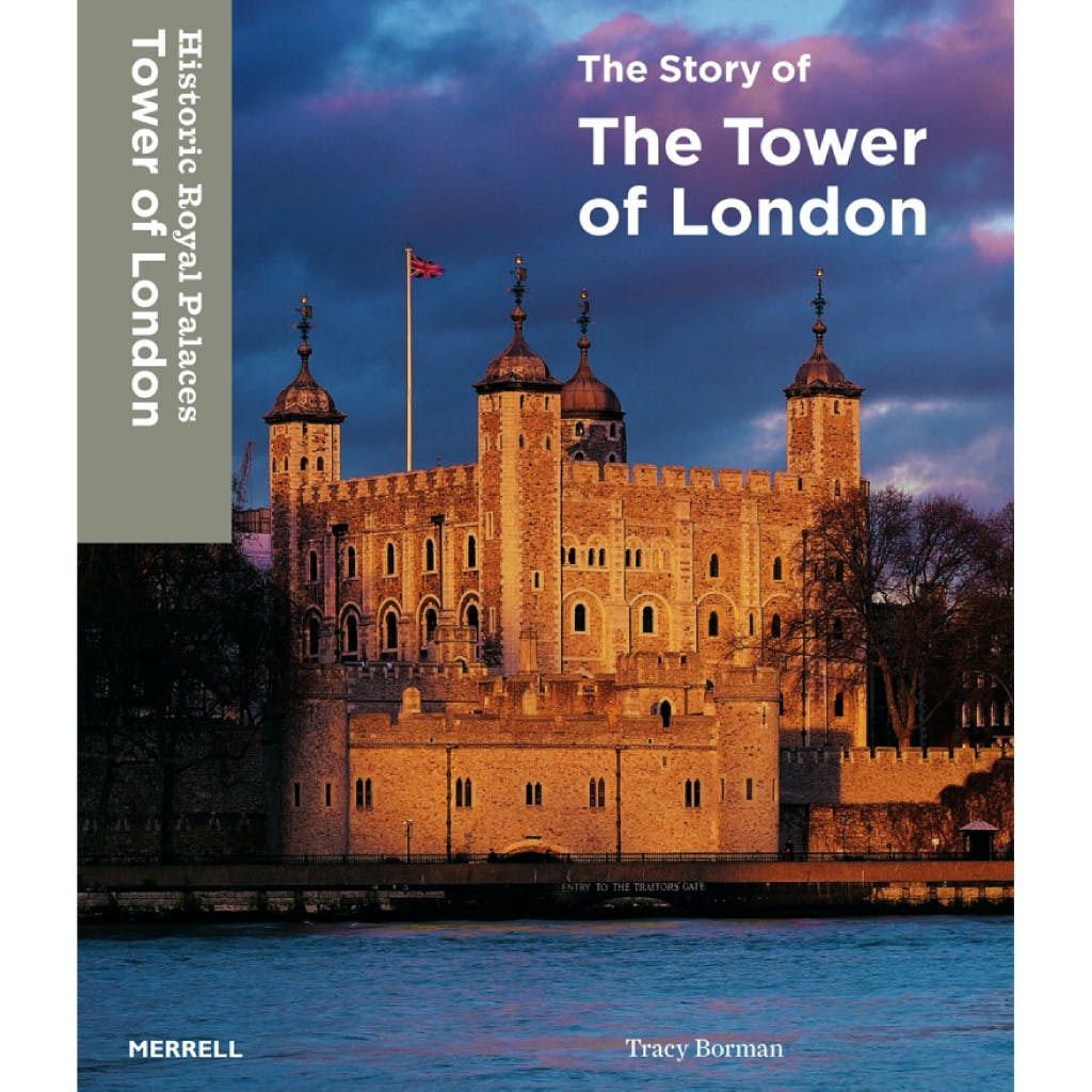 Front cover of the book featuring the Tower of London view across the River Thames.