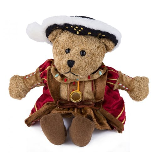 Henry VIII teddy bear