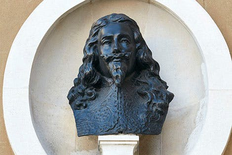 Bust of Charles I at Banqueting House