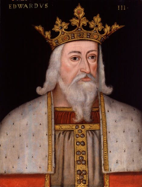 King Edward III by an unknown artist