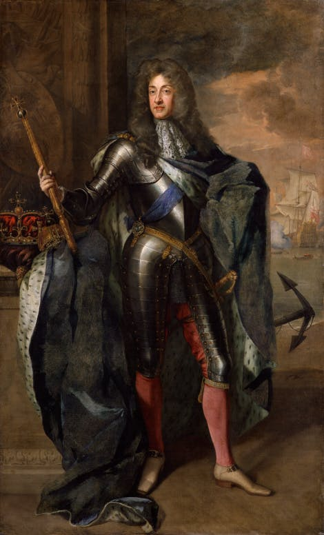 King James II, by Sir Godfrey Kneller, National Portrait Gallery