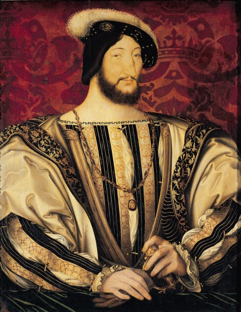 Portrait of Francois I