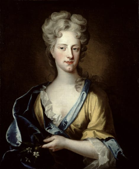 A portrait of one of Queen Anne's favourites, Lady Abigail Hill Masham