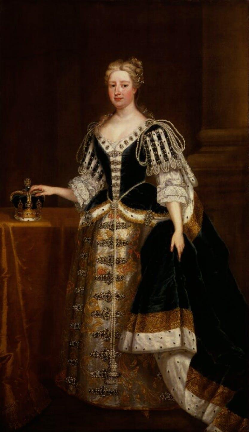Portrait of Caroline Wilhelmina of Brandenburg-Ansbach