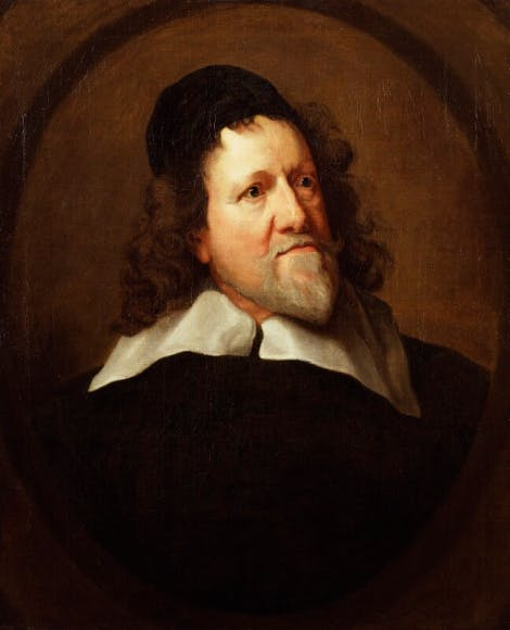 A portrait of Inigo Jones.
