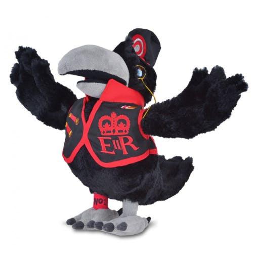 Raven soft toy
