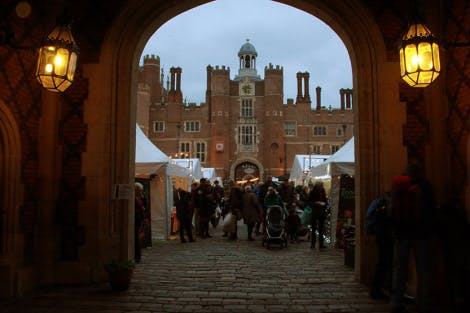 BBC Good Food Fayre at Hampton Court Palace