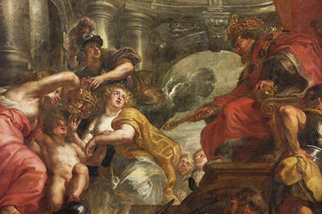 The Union of the Crowns Rubens ceiling