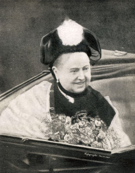 Photography of Queen Victoria smiling