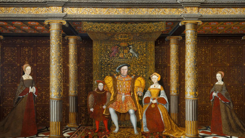 The Family of Henry VIII c. 1545, Royal Collection RC 405796