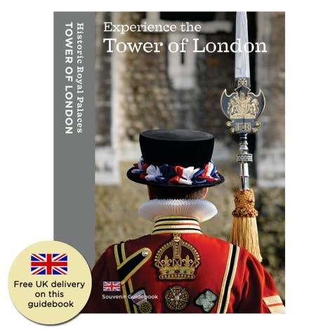 Official Tower of London guidebook shows the many faces of the Tower from menagerie and jewel house to fortress and prison.