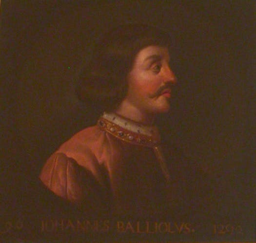 Portrait of John Balliol, King of Scotland by Jacob Jacobsz de Wet II