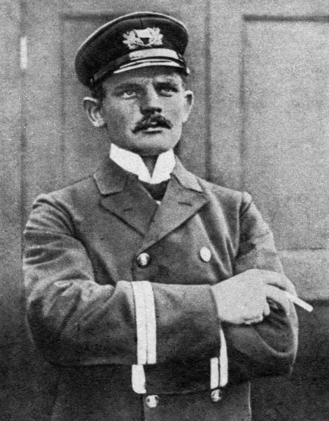 A photograph of Carl Hans Lody, German Navel officer and enemy agent, found guilty of espionage and executed at the Tower of London 6th November 1914