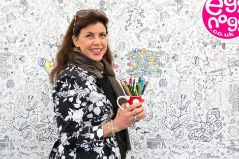 Kirstie Allsopp at the Handmade Festival