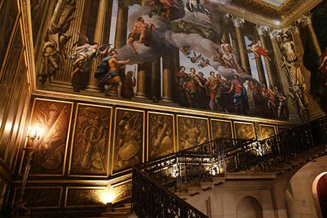 King's Staircase at Hampton Court Palace