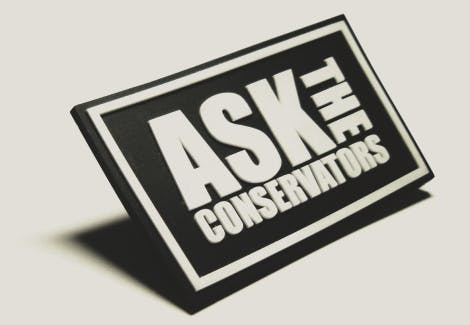 ASK the conservator logo for use with CCC-CM explaining activity programme