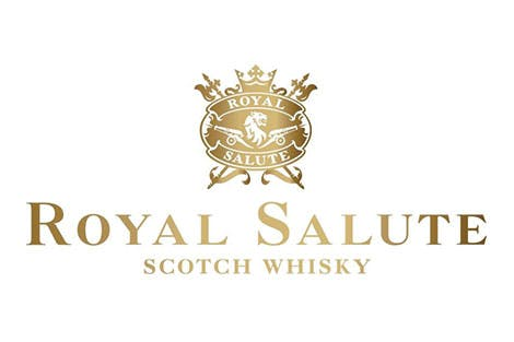 Royal Salute Scotch Whiskey logo on white background