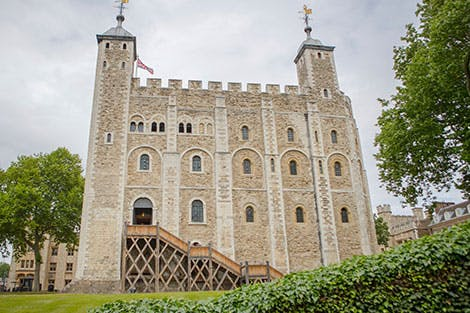 View of the White Tower exterior