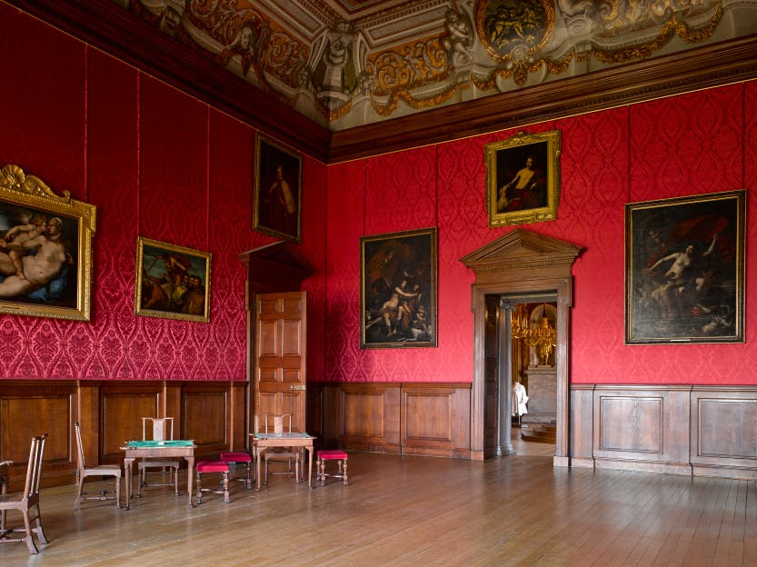The King's Drawing Room was the focal point of court life where, on public days, the king would meet members of the court, dressed in their finery.