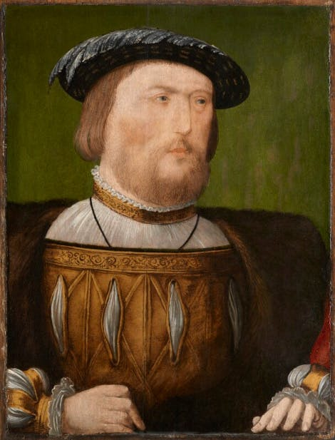 A portrait of Henry VIII, circa 1535-1540.