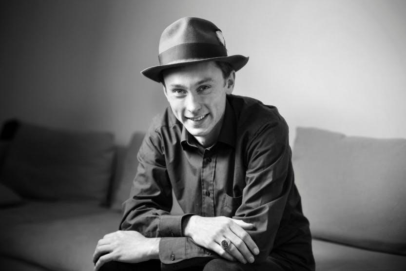 David Lyttle black and white photograph