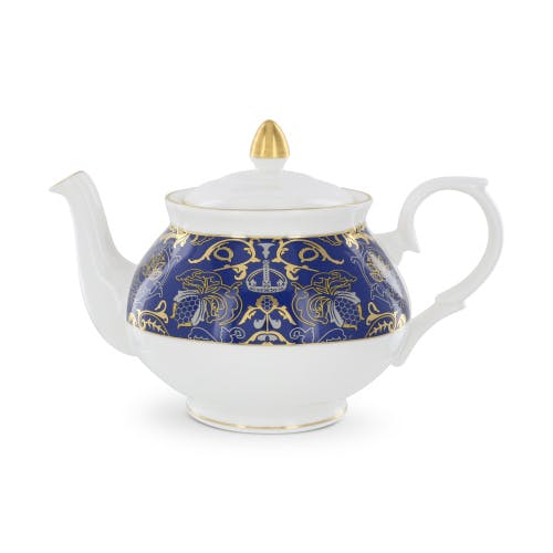 Prepare a perfect afternoon tea with our Royal Victoria bone china teapot.