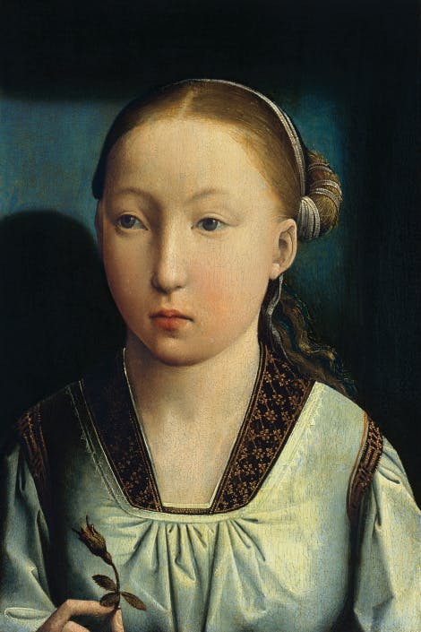 Portrait of Catherine of Aragon as a child