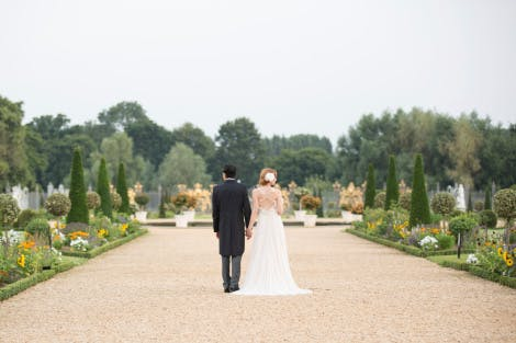 Wedding photography in the Privy Garden
