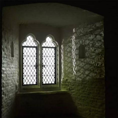 A ghostly photograph of the The Bloody Tower – ghosts of the Two Princes and Sir Walter Raleigh