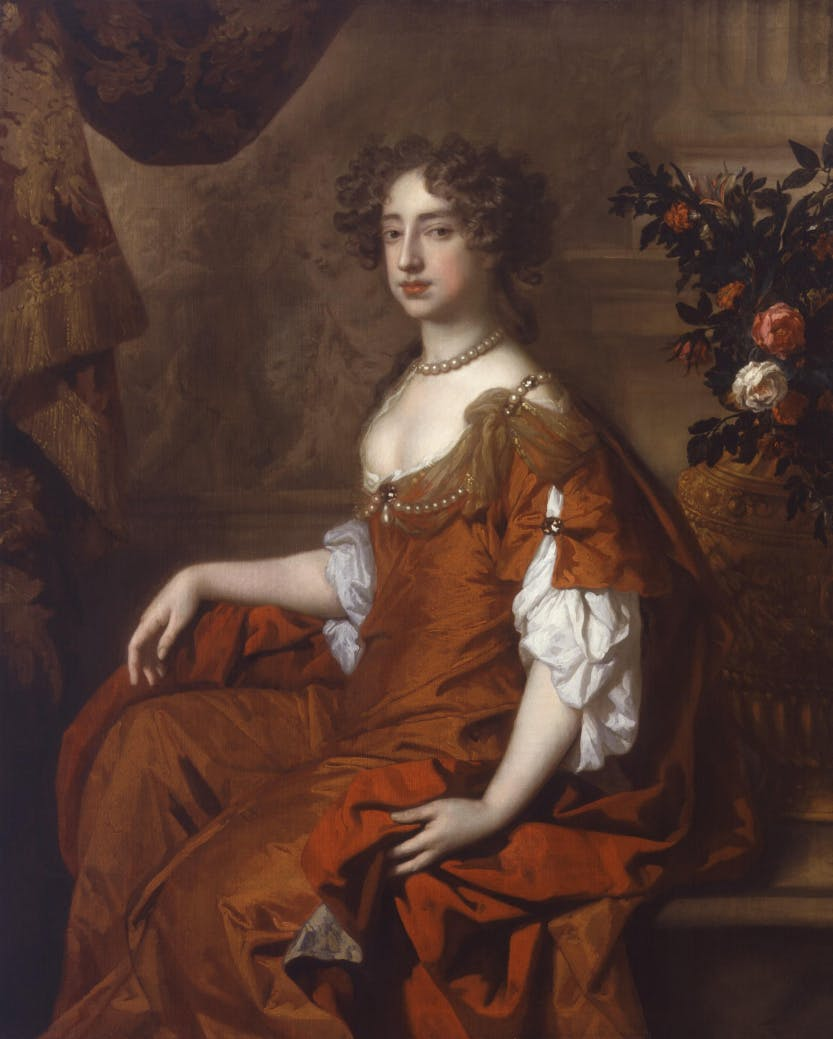 Queen Mary II, by Sir Peter Lely.  National Portrait Gallery.