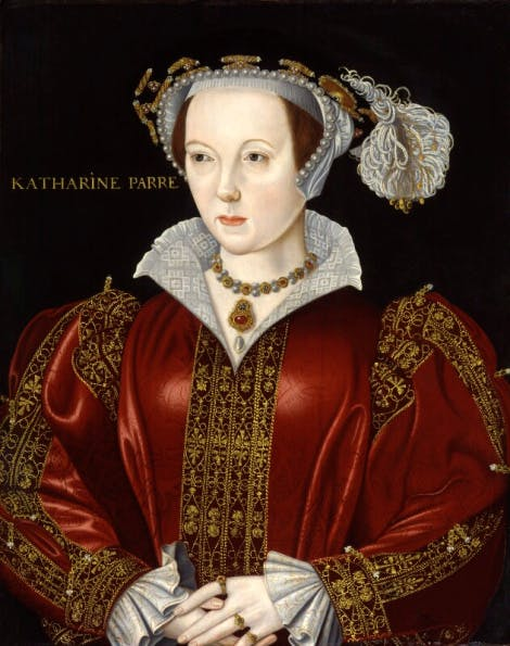 A portrait of Katherine Parr by an unknown artist