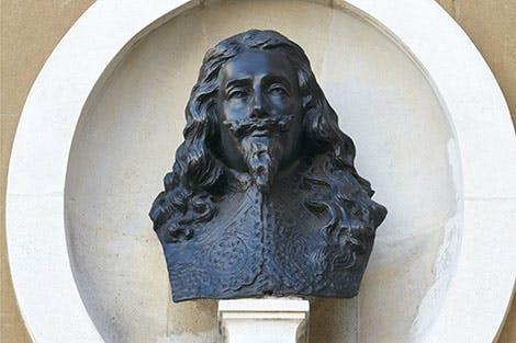 Bust of Charles I at Banqueting House