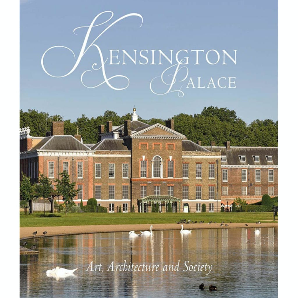 Fron cover of book showing exterior of Kensington Palace.