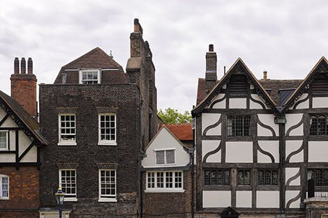 The Queen's House, of timber-frame domestic architecture.