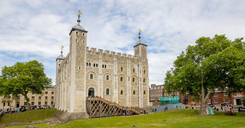 Exterior view of the White Tower