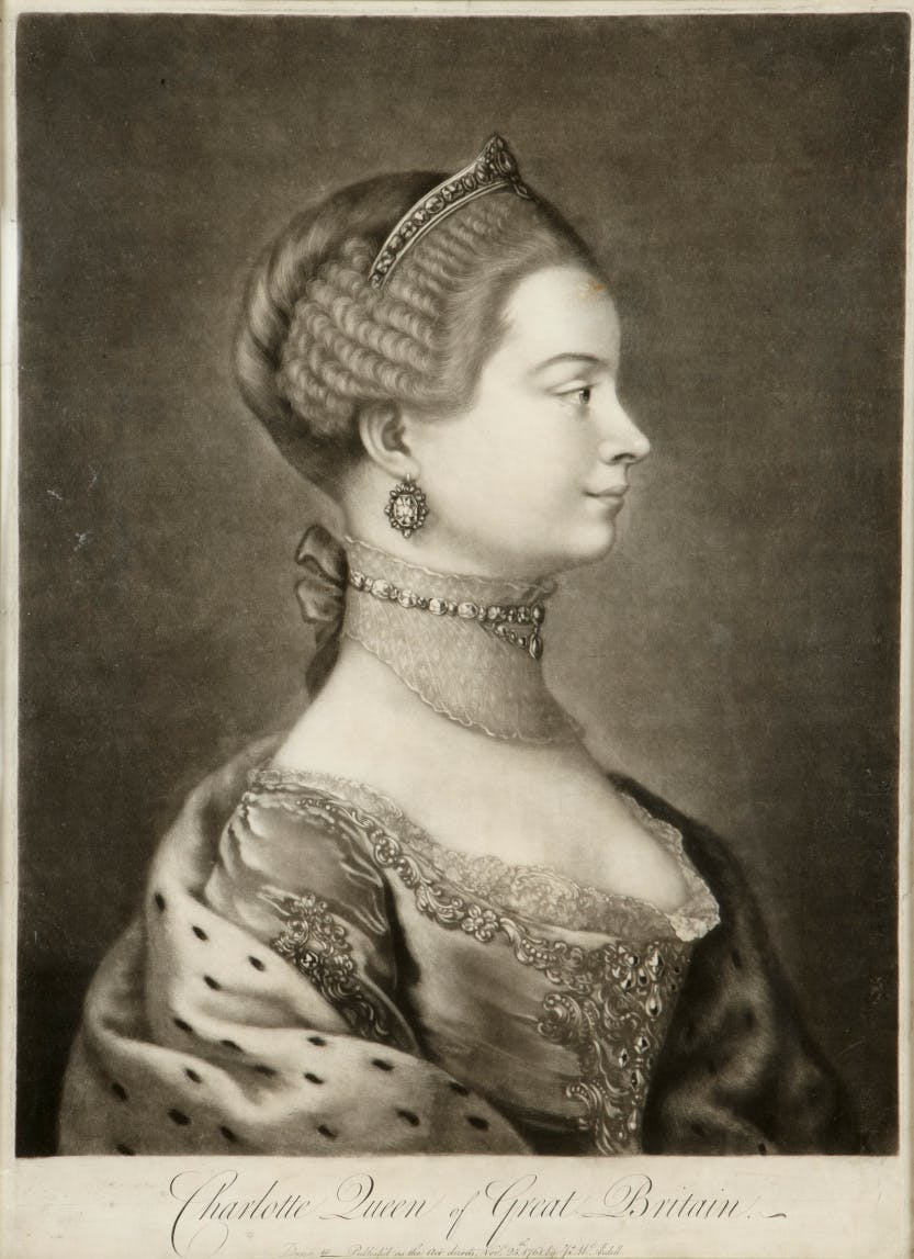 Profile of Queen Charlotte